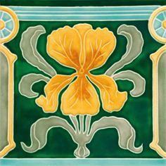 Golem Kunst- und Baukeramik GmbH | Art Nouveau tiles decorated | Art Nouveau tiles7