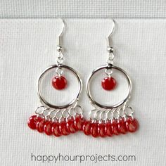 20 Creative DIY Tutorials How To Make Fancy Earrings