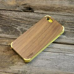 de2bdde776d Wood iPhone 5C Case Yellow Handcrafted Real Walnut by tmbrwood, $25.95 Fundas  Para Iphone,