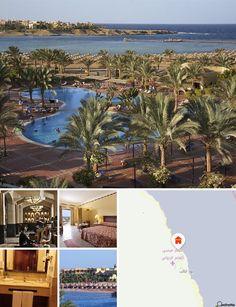 O hotel situa-se na zona de Marsa Alam, junto a uma praia de areia no Mar Vermelho. Fica a cerca de 5 km do Aeroporto Internacional de Marsa Alam, a 67 km de Quseir, a 210 km a sul de Hurghada e a 240 km de Luxor.