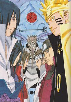 Sasuke and Naruto, Madara and Hashirama, Indra and Ashura Naruto Shippuden Sasuke, Naruto Kakashi, Anime Naruto, Madara Vs Hashirama, Susanoo, Manga Anime, Kakashi Chidori, Anime Ninja, Anime Characters