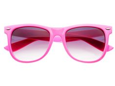 Cute Neon Pink Wayfarer Sunglasses Womens W904 – FREYRS - Sunglasses at Affordable Prices