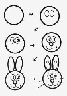 20 Ideas Funny Cartoons Drawings Kids For 2019 Funny Face Drawings, Doodle Drawings, Cartoon Drawings, Doodle Art, Cute Drawings, Easy Drawings For Beginners, Easy Drawings For Kids, Drawing For Kids, Art For Kids