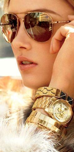 Just gold! Just Michael Kors! Just BLING! #limitlessepiphanies #0epiphanies0