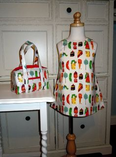 Girls Jumper ALine Dress made from Very Hungry by RennyClothing, $35.00
