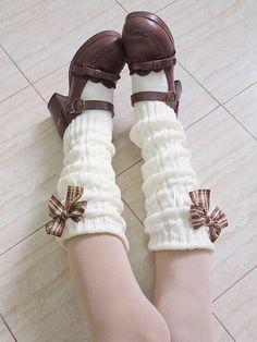 Kawaii Shoes, Kawaii Goth, Kawaii Clothes, Harajuku Fashion, Kawaii Fashion, Lolita Fashion, Fashion Outfits, Sock Shoes, Cute Shoes
