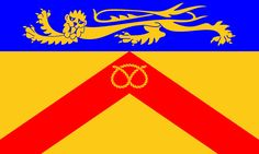 County Flag of Staffordshire Staffordshire Uk, County Flags, Flag Country, West Midlands, National Flag, England, British, Badges, Countries