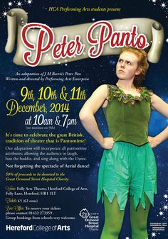 Oh yes it is! Peter Panto is coming to HCA next week! http://www.hca.ac.uk/About/Events/December-2014/Peter-Panto