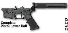 Rock River Arms Pistol Complete Lower Half / Standard Trigger,  Marked Pistol Only