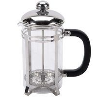 20 oz. Glass / Stainless Steel French Coffee Press; lots of 12 $6.40/ea.