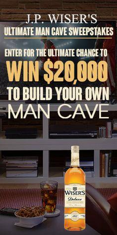 Win A $20,000 Man Cave Makeover End April 30