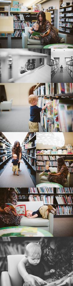 That's such a great idea! Want to try this! Library Photo Session || Kandice Breinholt Photography