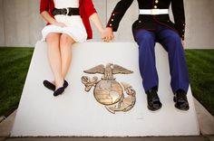 Marine love this is so precious! Usmc Love, Marine Love, Military Love, Marine Graduation, Photography Settings, Couple Photography, Photography Ideas, Marine Corps Ball, Military Relationships