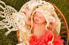 Newborn baby sheep bonnet Lamb hat Knitted sheep от UAmadeForYou