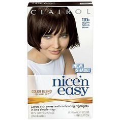 Clairol Nice 'n Easy Hair Color Natural Dark Caramel Brown 1 Kit (Pack of * To view further for this item, visit the image link. (This is an affiliate link and I receive a commission for the sales) Reddish Brown Hair Color, Hair Color Auburn, Brown Hair Colors, Brown Hair Inspiration, Best Hair Dye, Strawberry Blonde Hair Color, Natural Red Hair, Hair Color Caramel, Colored Hair Tips