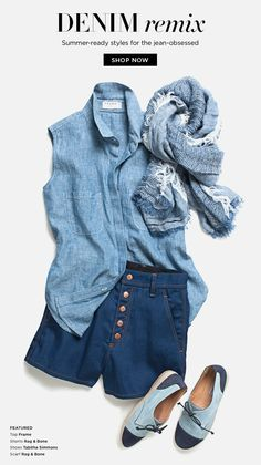 Denim remix: Summer-ready styles for the jean-obsessed