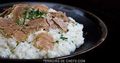 Risotto à la truffe blanche d'Alba Recette transalpine