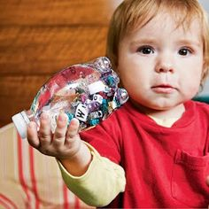 Amy's Daily Dose: Toddler Craft Ideas: Discovery Bottle
