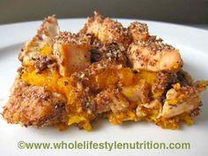 Maple Butternut Chicken Casserole
