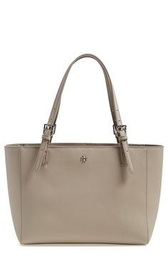 Tory Burch 'Small York' Saffiano Leather Buckle Tote | Nordstrom