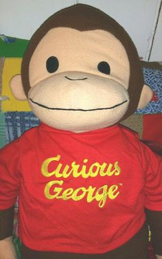 Curious George Stuffed Animal, 26 Inches #BabyBoom
