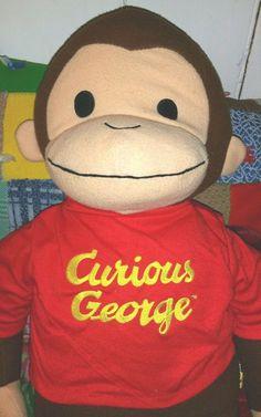 Curious George Stuffed Animal, 26 Inches #BabyBoom