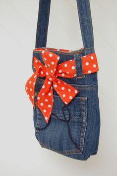 cute little jeans bag!