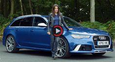 """Rezensent Dubs Audi RS6 Avant als die """"wahre Familie Supercar"""" Audi RS6 Audi Videos Reviews UK Video"""