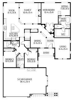 Rambler House Plans With Basements | Professional House Floor Plans, Custom Design  Homes | House Plans | Pinterest | Rambler House Plans, Custom Design And ...