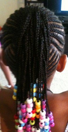 kids cornrow