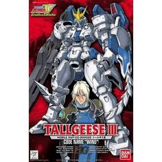 Bandai Hobby Gundam Wing #3 GUNDAM Tallgeese III 1/100 High Grade Model Kit