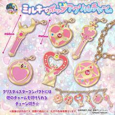 """sailor moon"" ""sailor moon merchandise"" ""sailor moon toys"" ""sailor moon gashapon"" ""sailor moon charm"" ""sailor moon compact"" ""sailor moon wand"" ""moon stick"" ""crystal star"" ""cosmic heart"" charm bracelet 2016 shop japan"