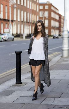cardigan with casual outfit