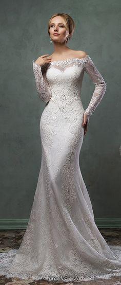 amelia sposa lace wedding dresses 2016 collection ofelia