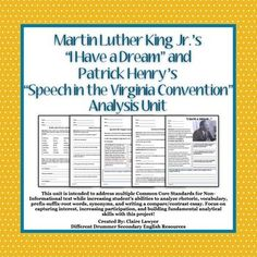 i have a dream critical analysis 2 analyse the most striking rhetorical devices king employs in his speech as well as the use of imagery (analysis) 3 choose one of the following 1contents the speech i have a dream delivered by martin luther king on 28th august 1963 in front of the lincoln memorial in washington.