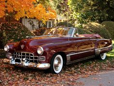 carnutzphoto:  1949 Cadillac Series 62 Convertible