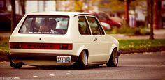 Love this old school lowered rabbit!
