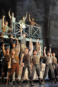 NEWSIES! My FAVORITE show in the whole world.