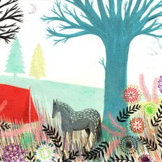 Animated drawings by illustrator Thoka Maer. Prints of her work available on Society6!