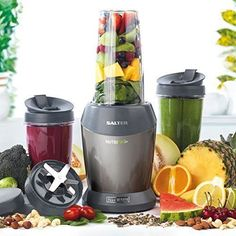 Smoothie Extractor Blender Juicer Nutrition Mixer Whole Fruit Vegetables Kitchen