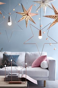 Suspension étoile d'IKEA