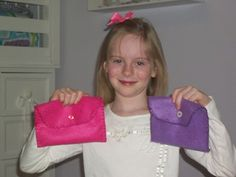 Cute purses for your girls to make