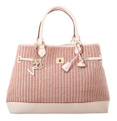 #V73 Capri Natural #Bag  #Shop now on https://www.v73.us/inaspettate/capri Coloured raphia bag, with natural leather-trimmed top edge, Internal leather trimmed cotton pouch, Snap-hook top closure, Metal feet at the baseH: 30 cm  W: 50 cm  D:18 cm