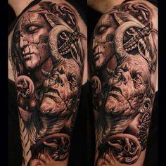Demon Tattoo Designs Archives - Tattoos Ideas