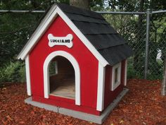 Handmade Wooden Dog Houses I Think You Could Make It 250 Seems Too