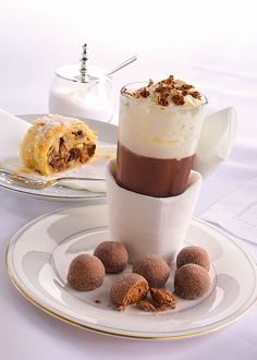 Viennese truffles and a Thorntons hot chocolate, what could be better?