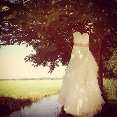 Weddingdress photography