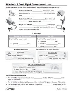Printables Icivics Worksheets cloze activity worksheets bill of rights interactive this lesson wanted a just right government is designed to help