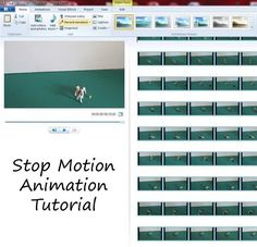 How to make your own stop motion animation movies at home using free Movie Maker software.