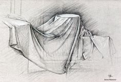 drapery studies in drawing - Google Search